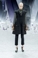 Chanel Fall 2012 HighCollar Formal Jacket in Grey Metallic in Gray - Lyst