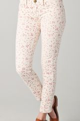 Current/Elliott The Floral Stiletto Jeans - Lyst