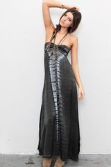 Indah Smocked Bust Maxi Dress in Black - Lyst