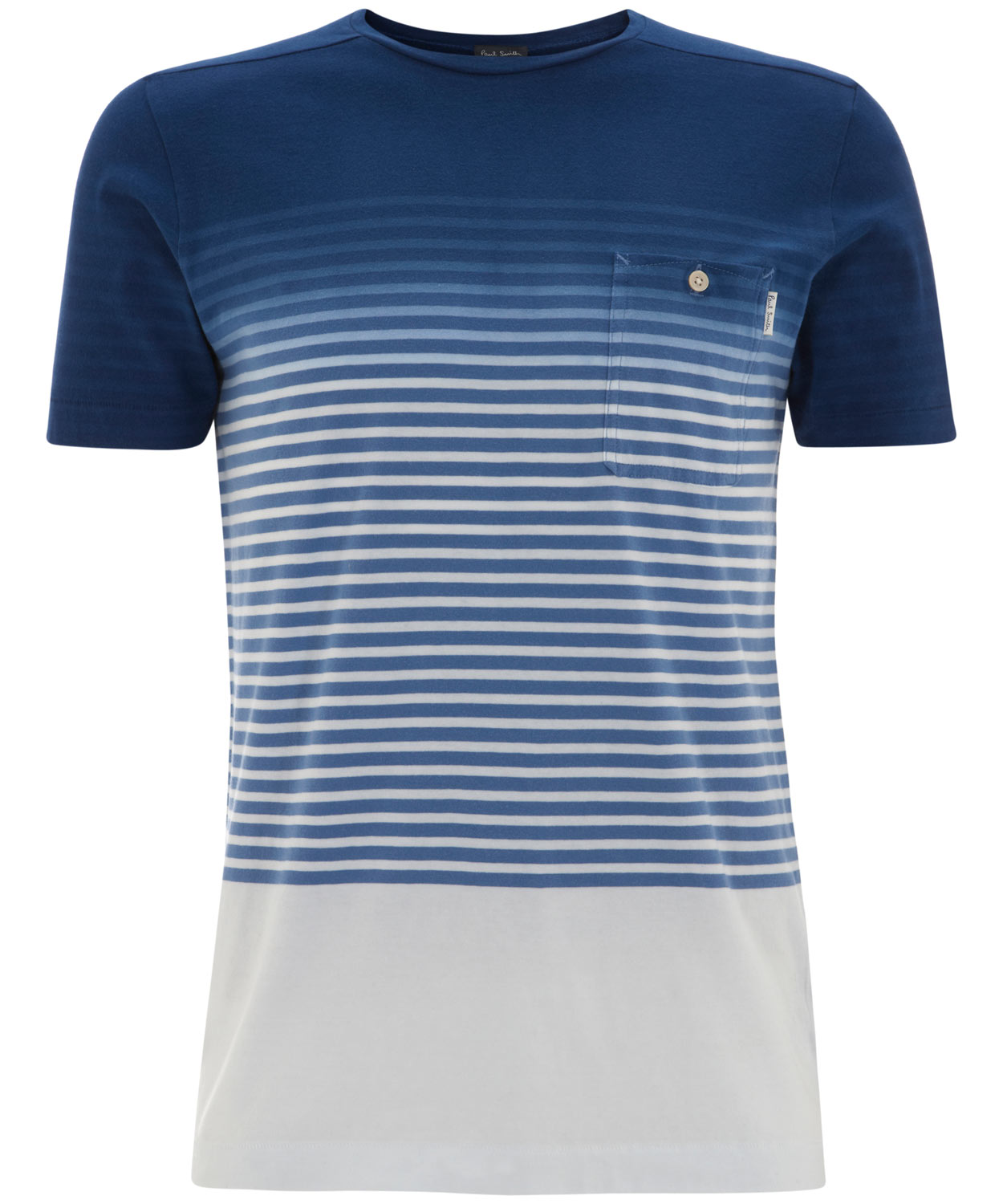 20d290c38561d Paul Smith Dip Dye Stripe T-Shirt in Blue for Men - Lyst