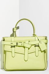 Reed Krakoff Boxer Tricolor Leather Satchel - Lyst