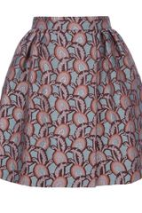 Rochas Printed Puff-ball Skirt - Lyst