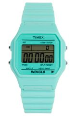 Timex® Timex 80 Pastel Blue Buckle Clasp Watch in Blue (pastelblue) - Lyst