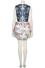 Topshop Balloon Dress By Mary Katrantzou** in Multicolor (multi) - Lyst