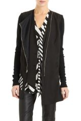 Wayne Front Tail Jacket in Black - Lyst