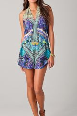 Camilla Babushka Playsuit Cover Up - Lyst
