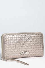 Elliott Lucca Large Zip Around Wallet - Lyst