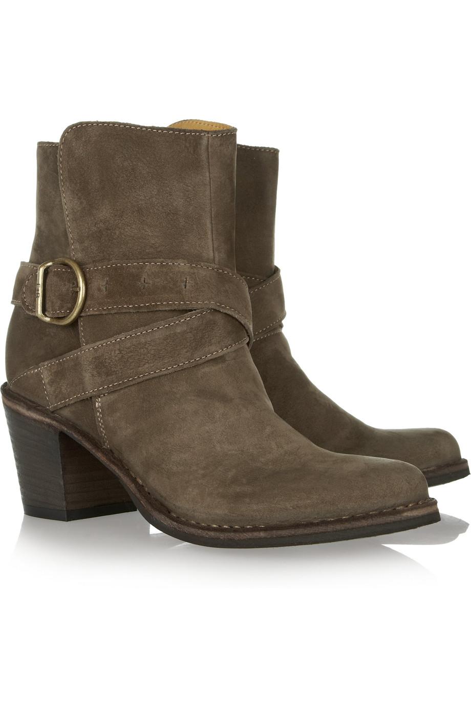 fiorentini baker nubis nolita fabula nubuck boots in brown lyst. Black Bedroom Furniture Sets. Home Design Ideas