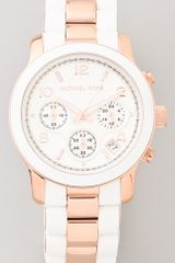 Michael Kors Runway Time Teller Watch - Lyst