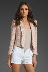 Alice + Olivia Jacks Single Lapel Blazer - Lyst