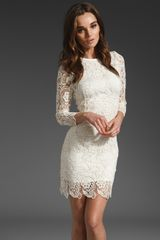 Eryn Brinie Lace Dress - Lyst
