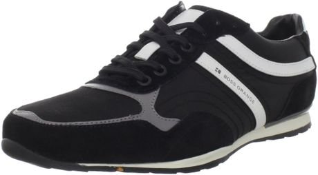Hugo Boss Ordon Trainer in Black for Men - Lyst