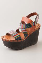 Joe's Jeans Trixie Wedge Sandals - Lyst