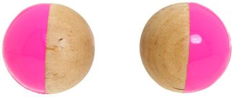 Kate Spade Rosewood Dot Stud Earrings - Lyst