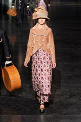 Louis Vuitton Fall 2012 Kaleidoscope Appliqué Midi Dress - Lyst