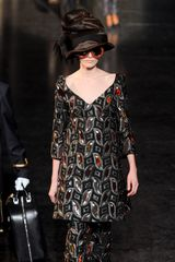 Louis Vuitton Fall 2012 Kaleidoscope Appliqué Tunic  - Lyst