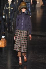Louis Vuitton Fall 2012 Purple Embellished Turtleneck in Purple - Lyst