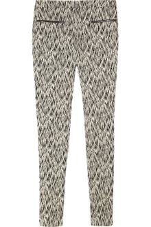 Matthew Williamson Ikat-print Stretch Cotton-blend Skinny Pants - Lyst