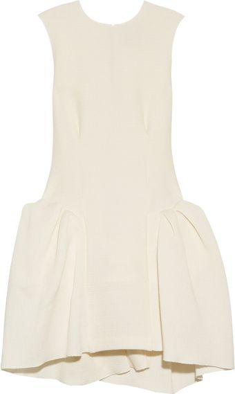 Roksanda Ilincic Agnes Pleated Cotton-blend Dress - Lyst