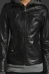 Soia & Kyo Malina Jacket in Black - Lyst