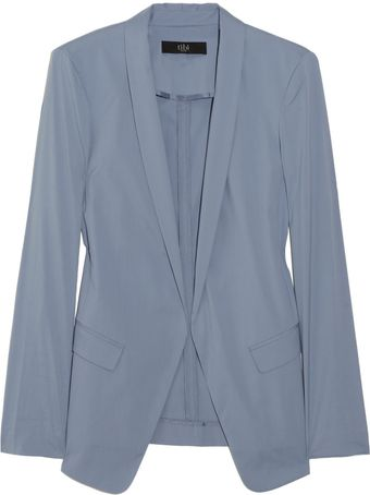 Tibi Stretch Cotton-blend Blazer - Lyst
