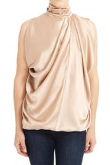 Yigal Azrouel Draped Sleeveless Top