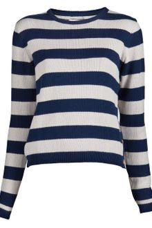 Chinti And Parker Nautical Stripe Sweater - Lyst