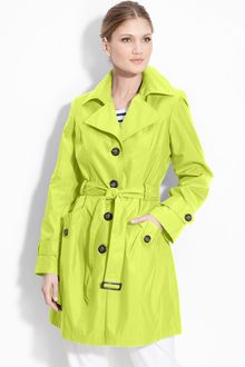 Gallery Single Breasted Memory Trench Coat - Lyst