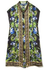 Givenchy Orchid Sleeveless Top in Black - Lyst