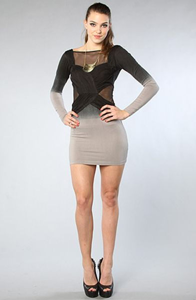 Style Stalker The Dress in Rhino in Gray - Lyst