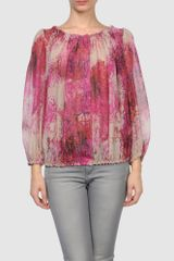 Giambattista Valli Long Sleeve Shirt - Lyst