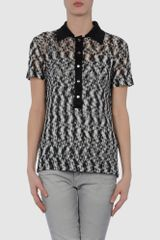Missoni Short Sleeve Jumper - Lyst