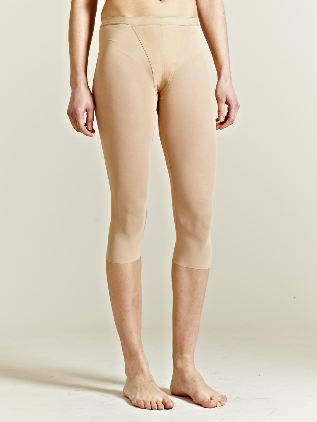 Beige Leggings Womens