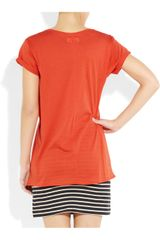 Chinti And Parker Oversized Organic Cotton Tshirt in Red (tomato) - Lyst