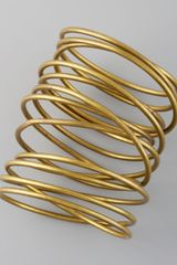 Kelly Wearstler Twisted Brass Bracelet - Lyst