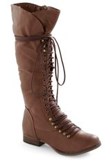 ModCloth Follow The Cedar Boot in Medium Brown