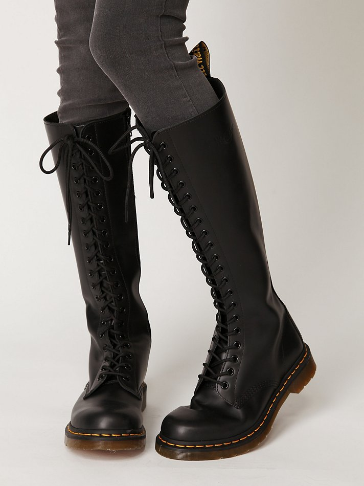 Lyst Free People 20 Eye Zip Boot In Black