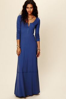 Free People Miles Of Henley Dress - Lyst