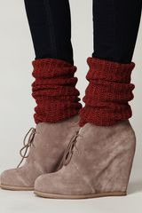 Free People Lantana Wedge Ankle Boot - Lyst