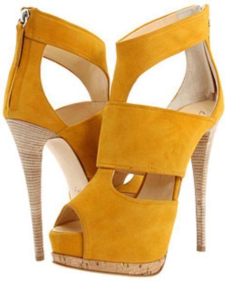 Giuseppe Zanotti Sandals in Yellow (c) - Lyst