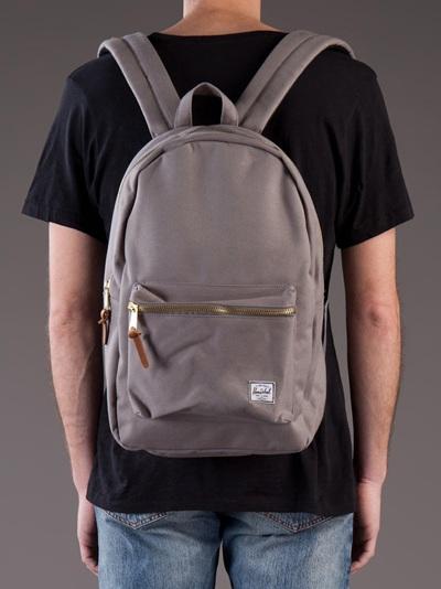 2db5b109de Herschel Supply Co. Settlement Backpack in Gray for Men - Lyst