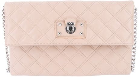 Marc Jacobs Sandy Envelope Clutch in Beige (sandy) - Lyst