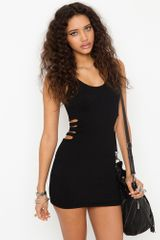 Nasty Gal Pucker Up Caged Dress - Lyst