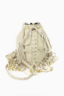 Nasty Gal Fringed Bucket Bag - Lyst