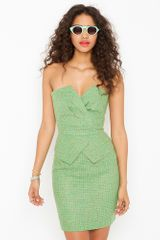 Nasty Gal Patti Peplum Dress - Lyst