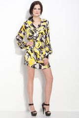 Rachel Zoe Murray Printed Shirtdress - Lyst
