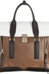 3.1 Phillip Lim Colorblock Pashli Satchel - Lyst