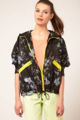 ASOS Collection Asos Abstract Floral Parka - Lyst
