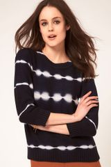 Boutique By Jaeger Tie Dye Sweater - Lyst