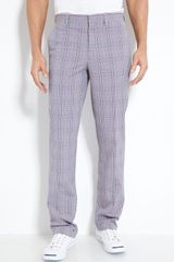 Etro Plaid Trousers - Lyst